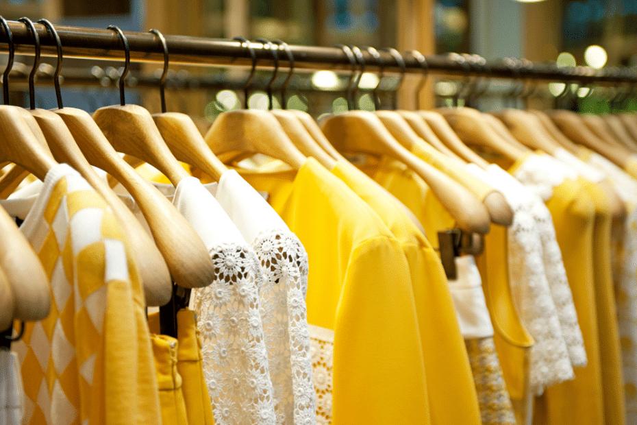 KLeur geel kleding